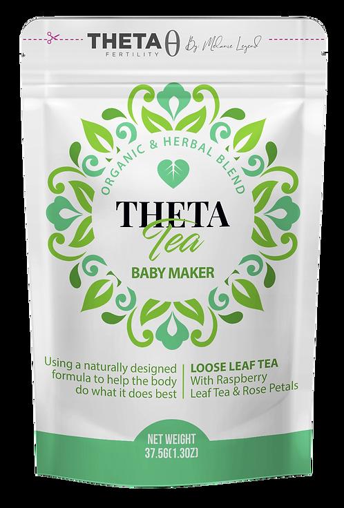 Baby Maker Tea (Makes 30 Cups) With Raspberry Leaf Tea & Rose Petals