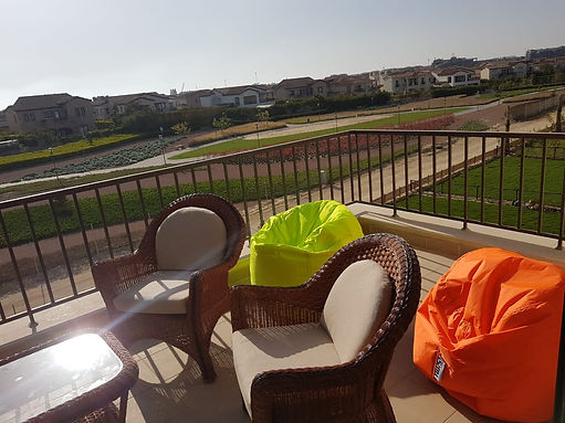 Beautiful 2 bedrooms chalet penthouse for rent in blanca marassi north coast