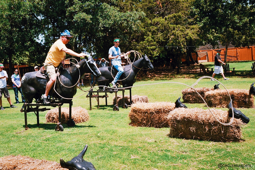 Roping-Team-Building-at-Circle-R-Ranch