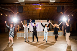 Guests Dancing at Wedding Venue
