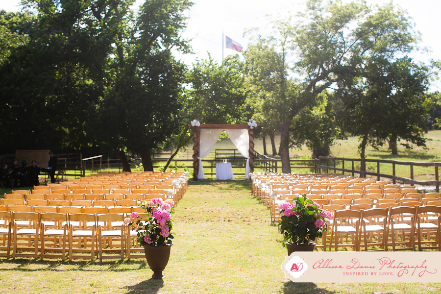 Ceremony at Wedding Venue
