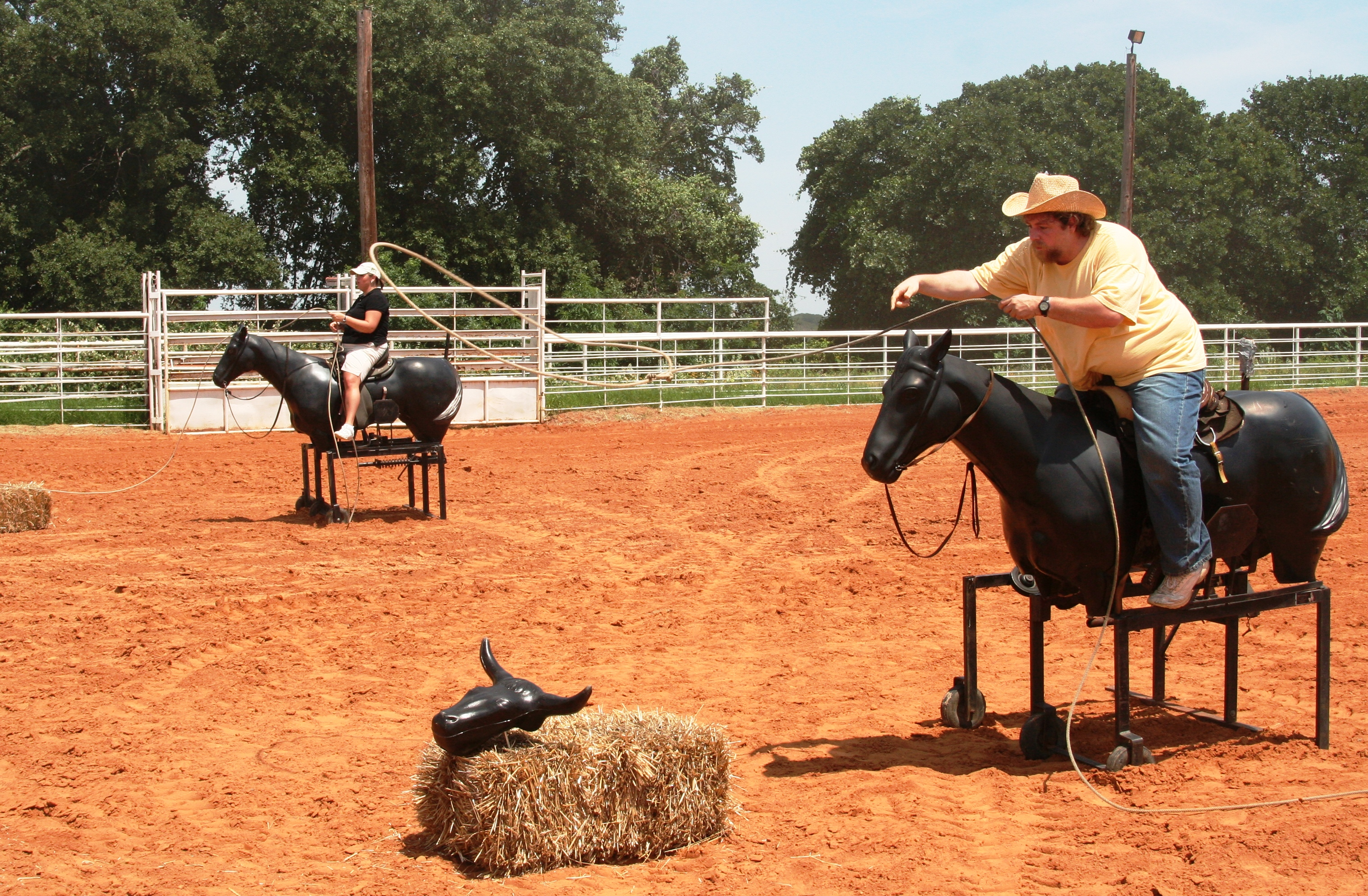 Roping Competition for Team Building at