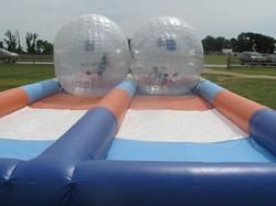 Zorb Balls for Company Picnic at Circle