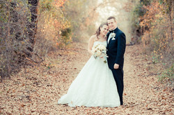Bride and Groom at TX Wedding Venue