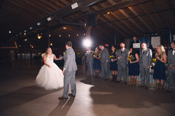 First Dance at Wedding Venue