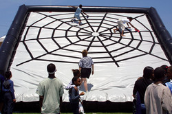 Inflatable Spider Crawl for Company Picn