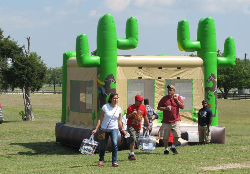 Bounce House  for Company Picnic at Circ