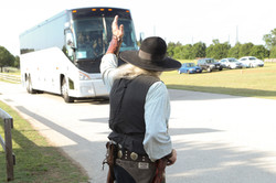 Gunfighter Bus Greeting-brb Event 2018