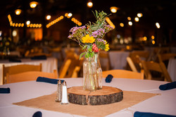 Wedding Centerpiece at Wedding Venue