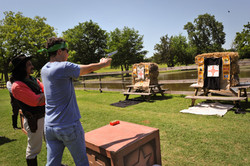 Target Shooting  for Team Building at Ci