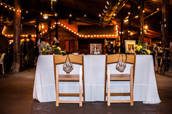 Sweetheart Table at Wedding Venue