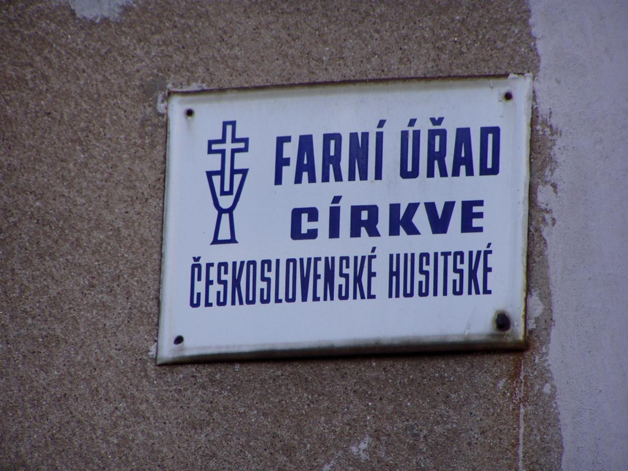 Farní úřad CČSH Hlubětín a Vysočany