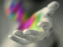 Handen energie intiutief