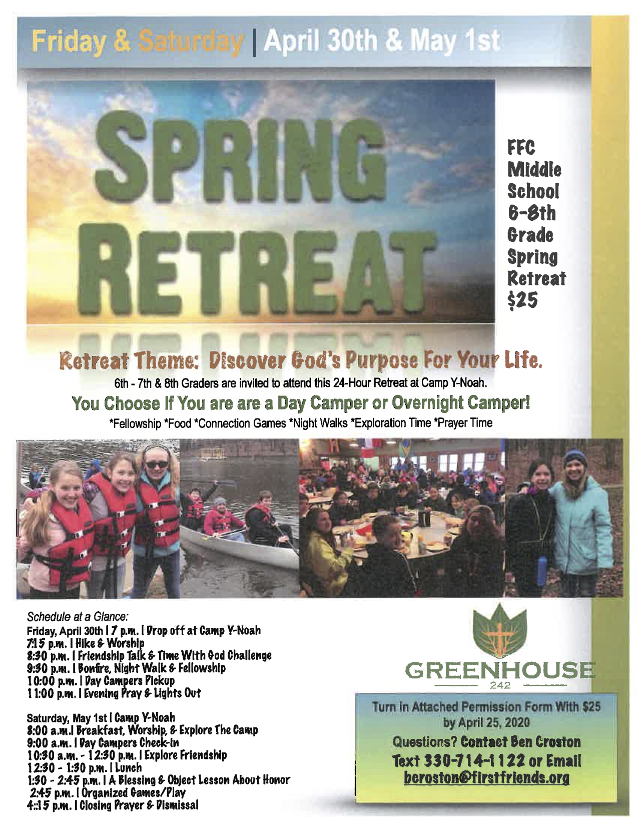 Spring Retreat 2021