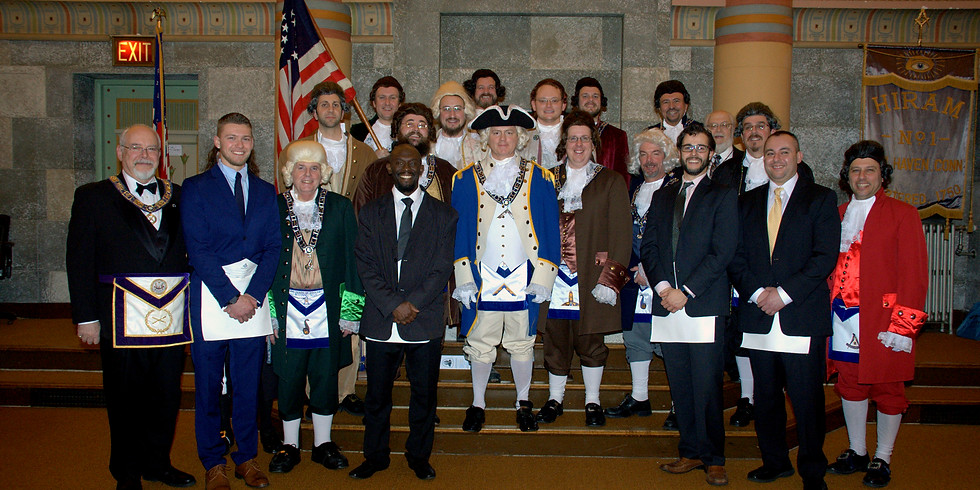 Colonial Entered Apprentice Degree  February 28, 2018