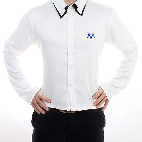 M42 Esports Bamboo Double High-Collar Shirt by Jmamoni