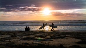 Sunset Surf Photography
