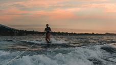 Wakeboarding Sunset 2019 - Mediterranean Sea