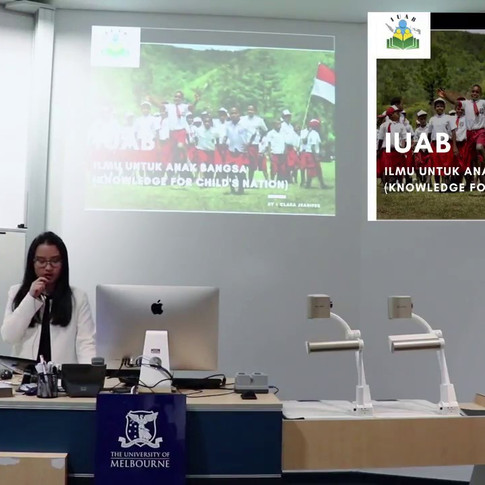 Clara Jeanifer (PPIA Victoria) - Ilmu Untuk Anak Bangsa (Knowledge For Child's Nation)