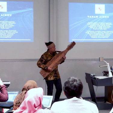 ISDF Opening - Indonesian National Anthem and Music Performance by Rayhan Sudrajat