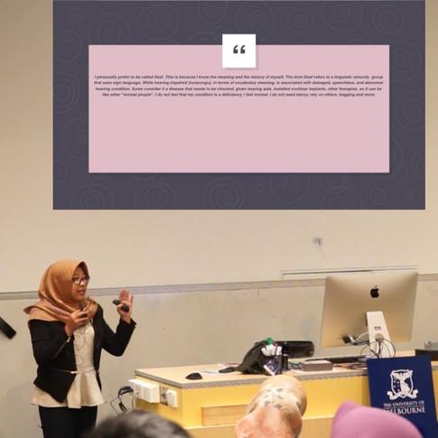 Gadis Kartika Pratiwi - Intracultural Communication between Deaf and Hearing People in Indonesia