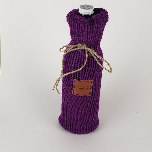 Knitted Wine Gift Bag