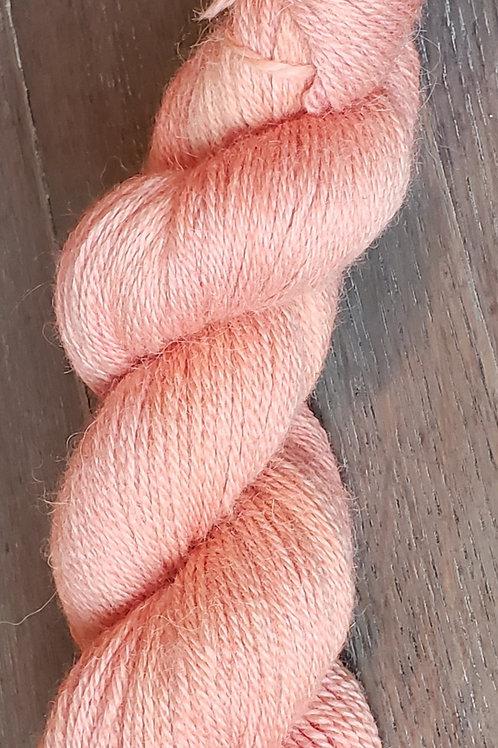 Peach of a Yarn Sport Weight Alpaca Yanr