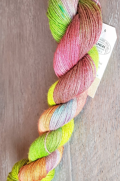 Paas Easter Egg Dyed Finger Weight Alpaca Yarn