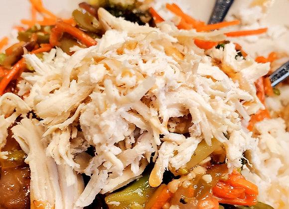 Chicken Teriyaki veggies and rice