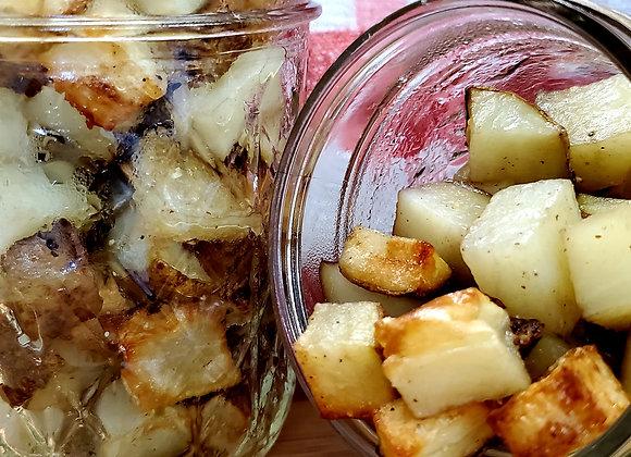 Air Fried Seasoned Potatoes