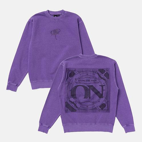 [ON HAND] ON Purple Sweatshirt (Large)