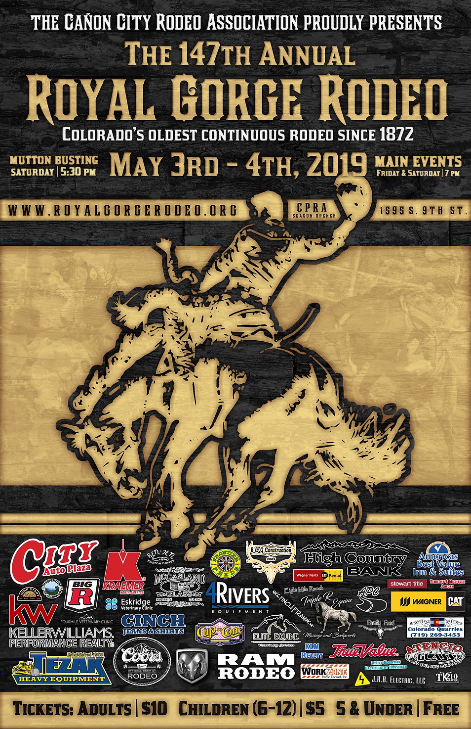 The 147th Annual Royal Gorge Rodeo