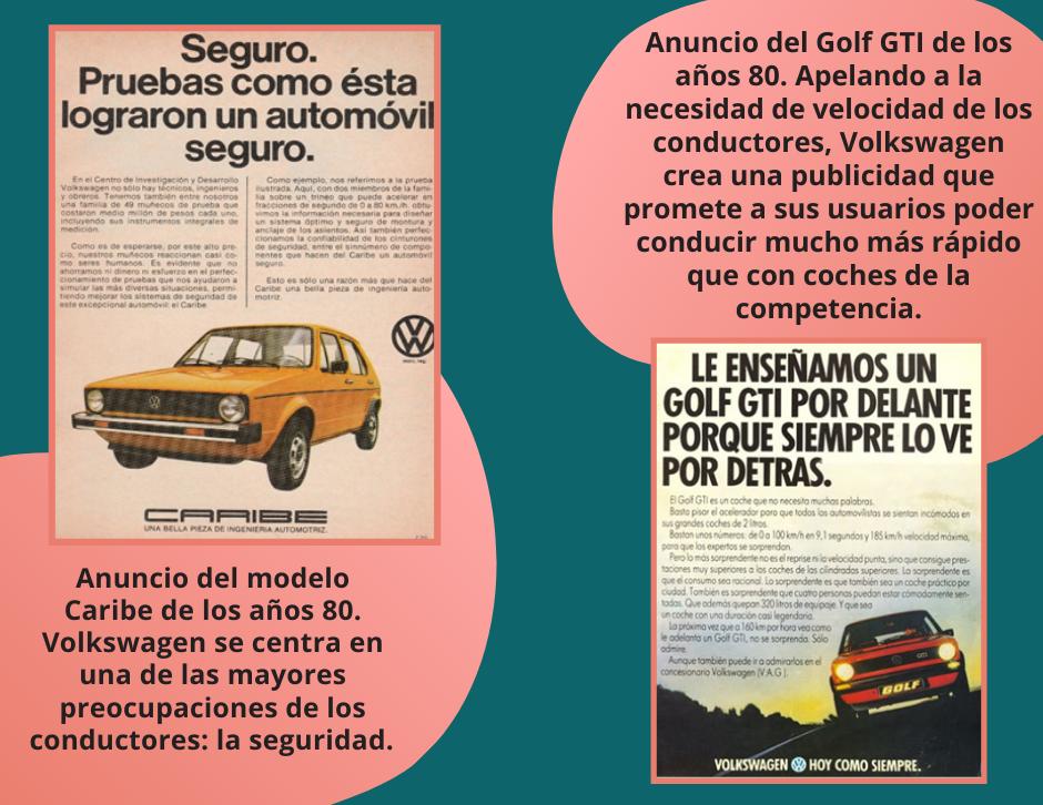 Anuncios de Volkswagen de los 80s