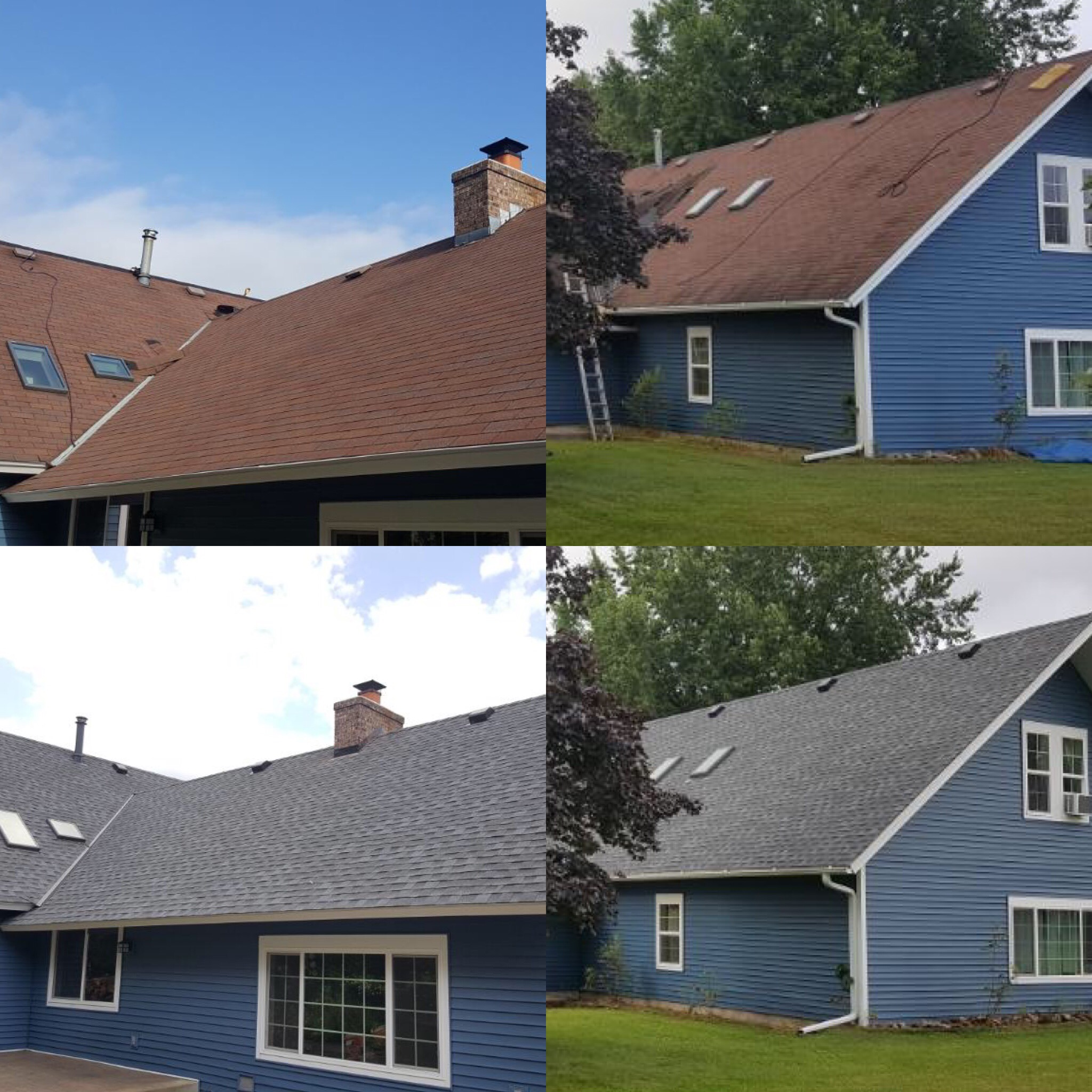 New Roof August 2019 (Before & Afters)