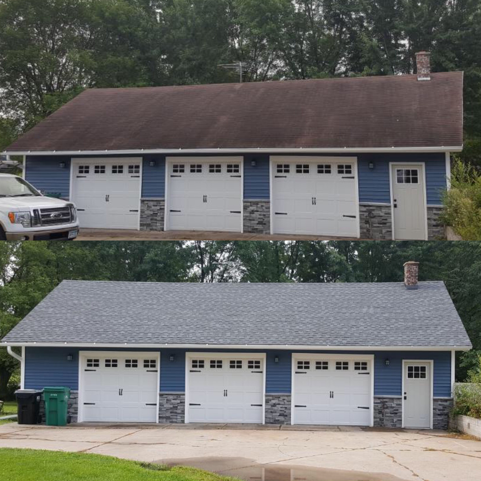 New Garage Roof August 2019