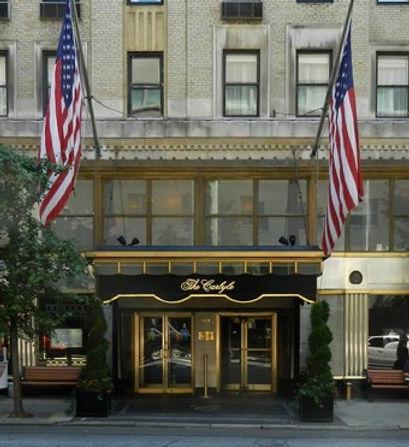 Carlyle Hotel Courtesy of Richard Johnso