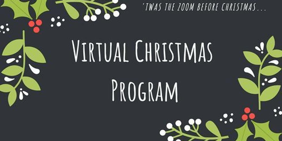 Zoom CHRISTMAS PROGRAM