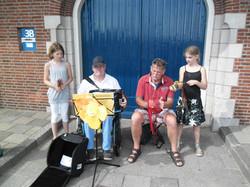 Festival Enkhuizenmet Robert en Klei