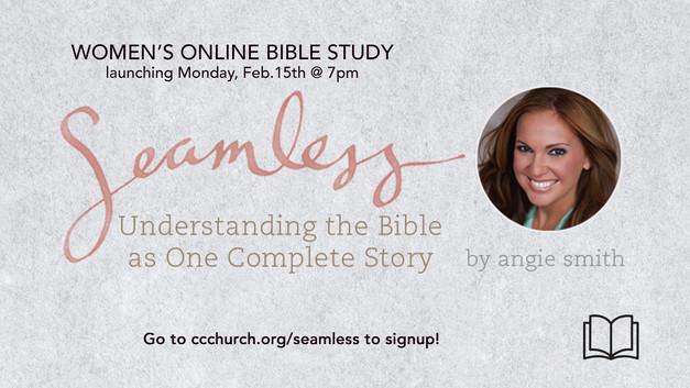 WOMEN'S ONLINE BIBLE STUDY