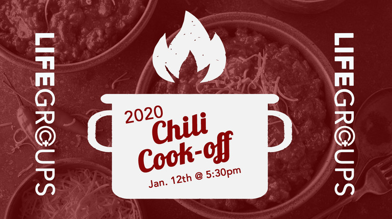LifeGroups Chili Cook-off