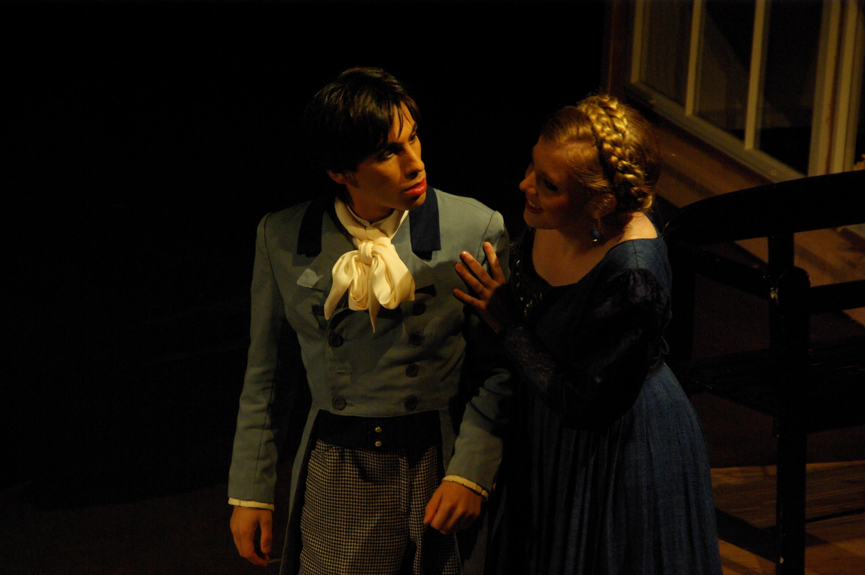 """Als Dikson in """"La Dame blanche"""""""