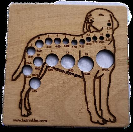 Needle Gauge - Labrador