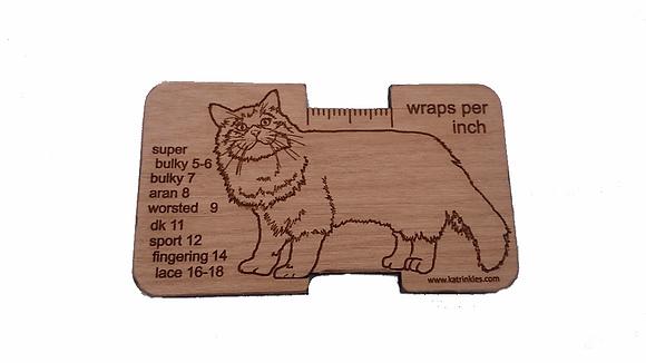 Wraps Per Inch tool - Cat
