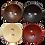 Thumbnail: Concave wooden button
