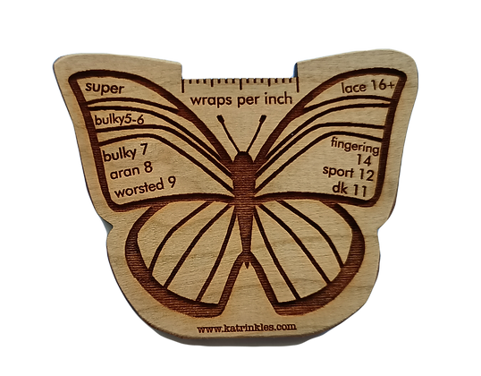 Wraps Per Inch tool - Butterfly