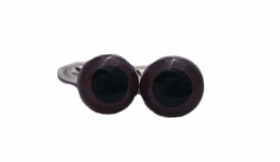 Eyes - 15mm brown