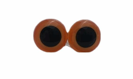 Eyes - 15mm gold