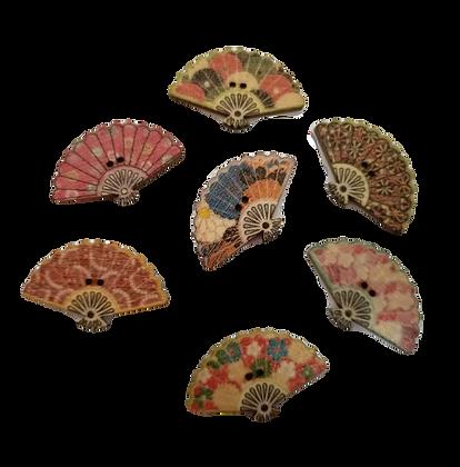 Fan buttons