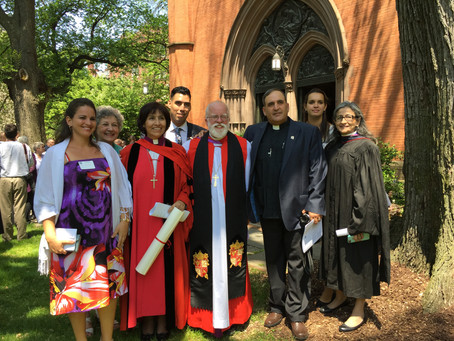 Bishop Griselda receives honorary doctorate from General Theological Seminary