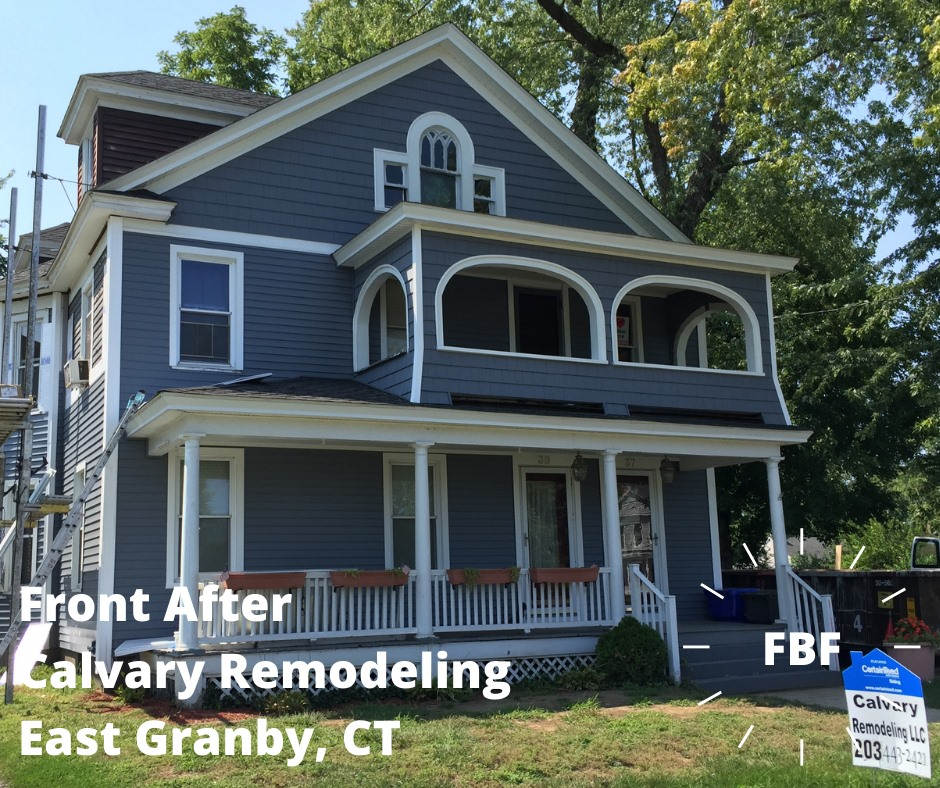 East Greanby CT Siding after